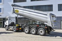 Meiller tipping semi-trailer innovations for every weight class at the IAA 2018
