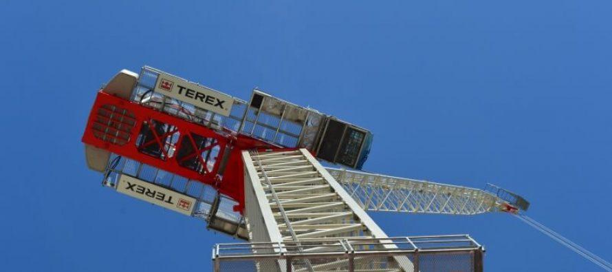 CTL 272-18 este cea mai nouă macara turn cu braț înclinat de la Terex
