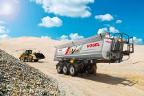 More payload for the Kögel tipper trailer: clever material mix makes it possible