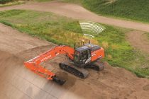 "Hitachi privește spre viitor odată cu excavatorul hidraulic ZX210X-6 ICT cu funcție ""machine control"""