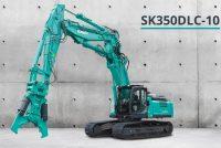 Kobelco introduce pe piața europeană cel mai mic model al său de excavator pentru demolări