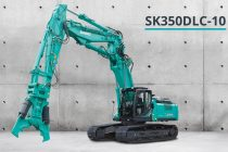 Kobelco launches its smallest demolition machine in Europe