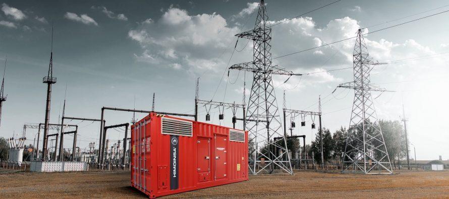 Himoinsa dezvoltă în containere de 10 și 20 ft substații de transformare de tensiune