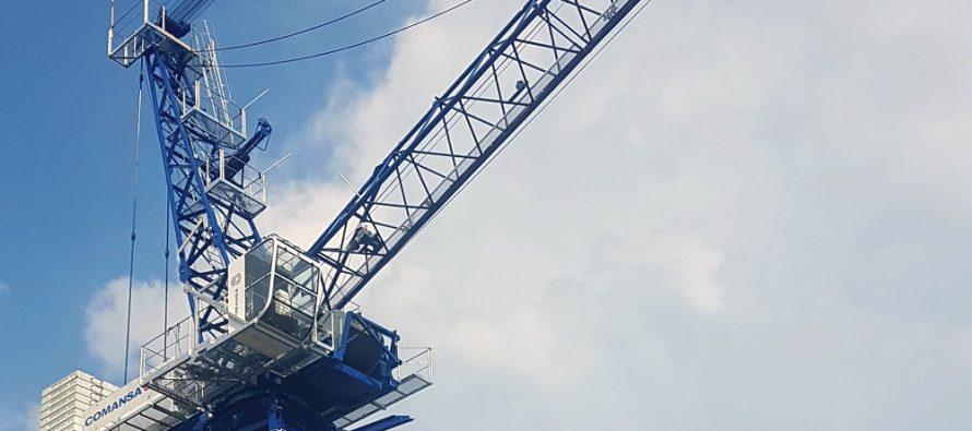 Comansa va lansa la Bauma China două noi macarale cu braț înclinat