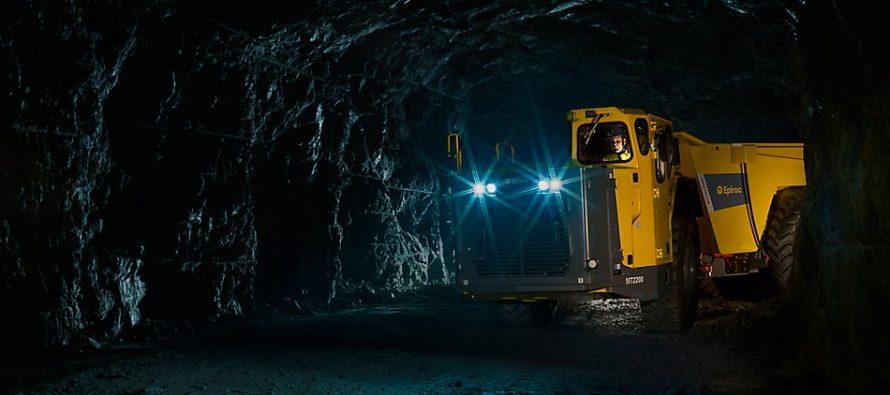 Noul Minetruck MT2200 de mare capacitate de la Epiroc intră în acțiune