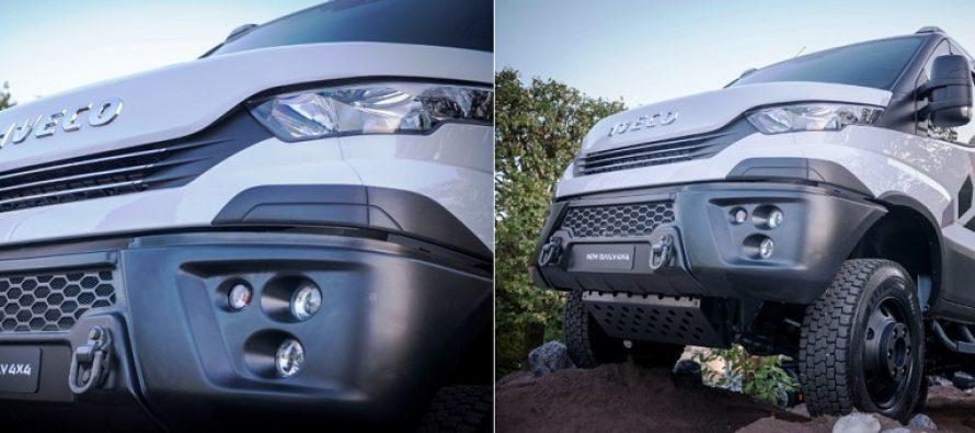 Iveco a lansat noua linie Daily 4×4 de vehicule all-road și off-road cu o masă totală de până la 7 t