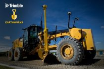 New version of Trimble Earthworks Grade Control platform includes support for motor graders and automatic guidance for tiltrotators