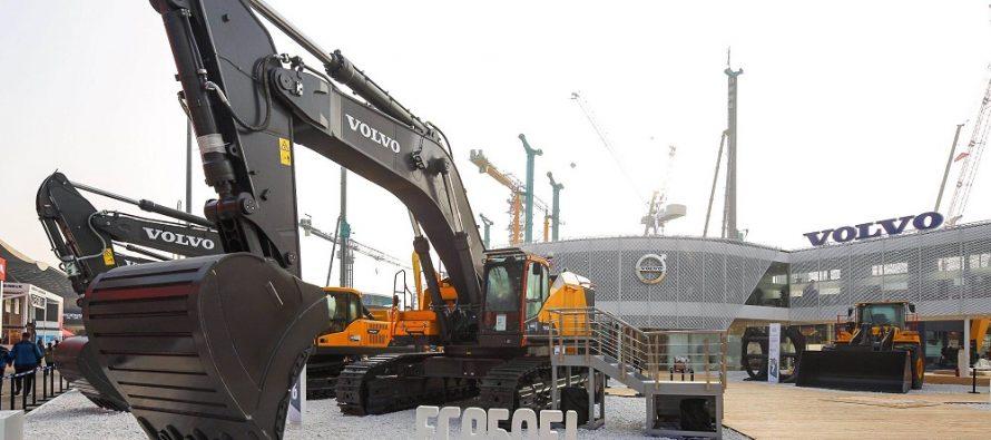 La Bauma China, Volvo CE își prezintă portofoliul de produse pentru o infrastructură sustenabilă