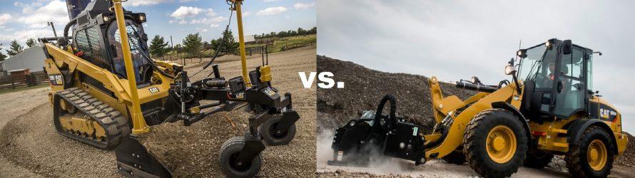 Miniîncărcător compact vs încărcător frontal compact