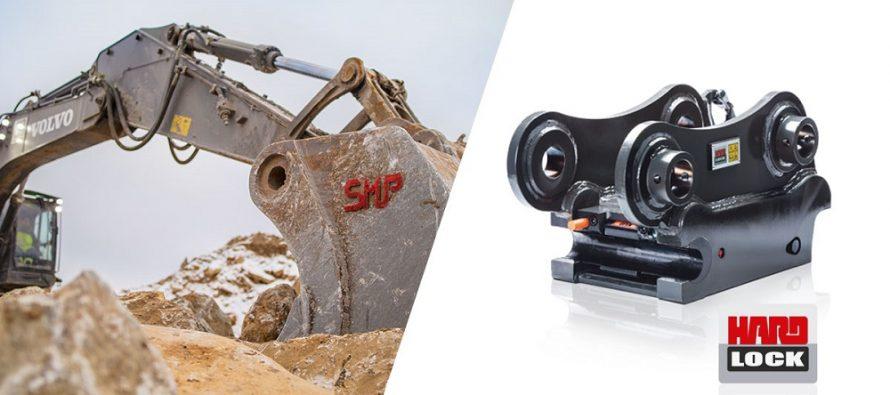 SMP Parts a lansat cupla rapidă HardLock90 pentru utilaje între 35 și 55 t