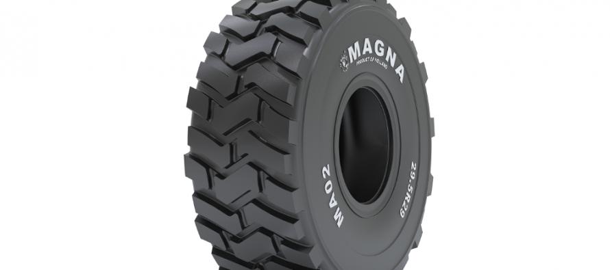 Noua anvelopă Magna MA02 Scraper pentru screpere și autogredere