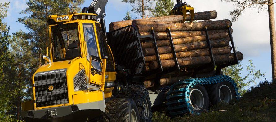 Sampo acordă o atenție mai mare sectorului forestier, lansând 3 noi utilaje
