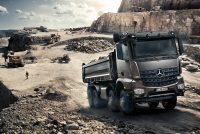 Camioanele Arocs de la Mercedes-Benz își dau măsura robusteții