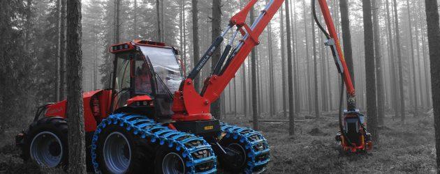 Producătorul finlandez Nisula a lansat noul harvester pentru rărituri N5 cu 6 roți