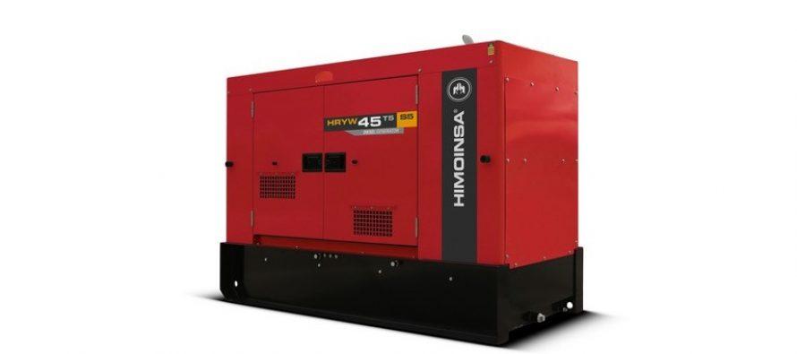 Noi generatoare Himoinsa cu motoare Stage V