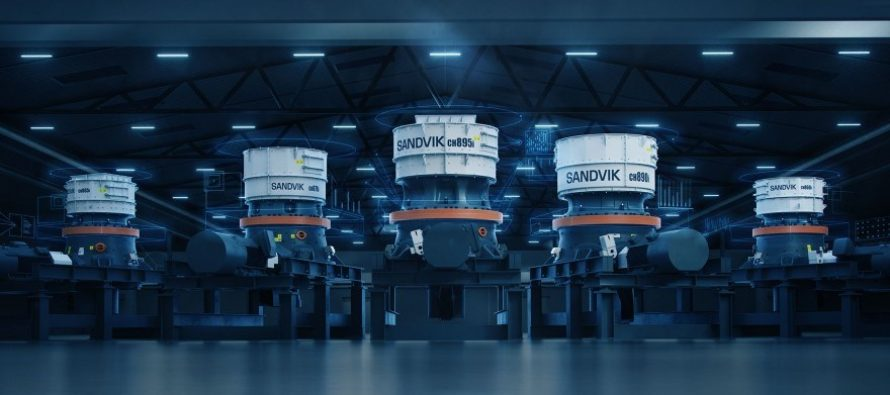 The new Sandvik CH800i series – a revolution in connected crushing