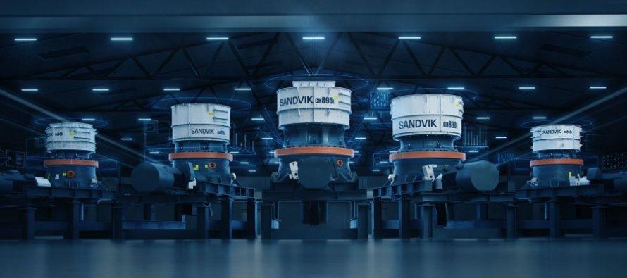 Noua serie Sandvik CH800i – revoluție în concasarea conectată