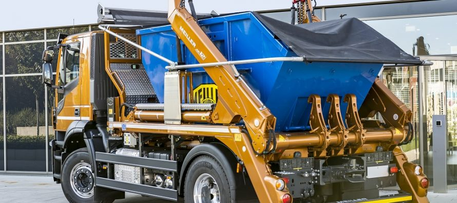 Meiller skip handlers – safe and convenient workhorses