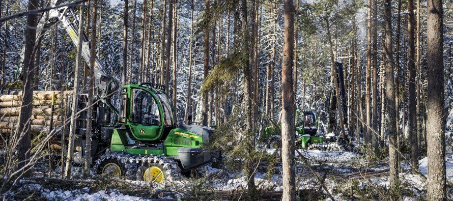Sistemele TimberMatic Maps și TimberManager duc exploatarea forestieră la nivelul următor