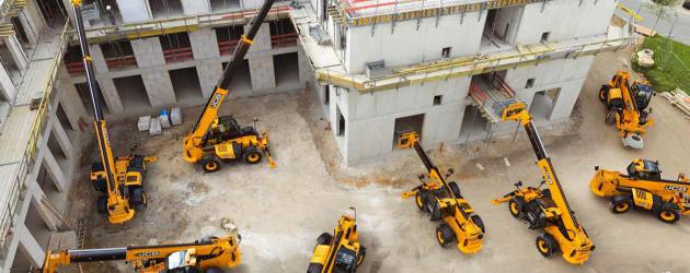 """Telehandlere """"croite"""" pentru industria construcțiilor și sectorul de închiriere (I)"""