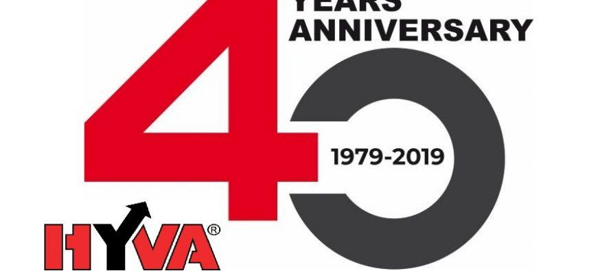 Hyva celebrează 40 de ani de activitate