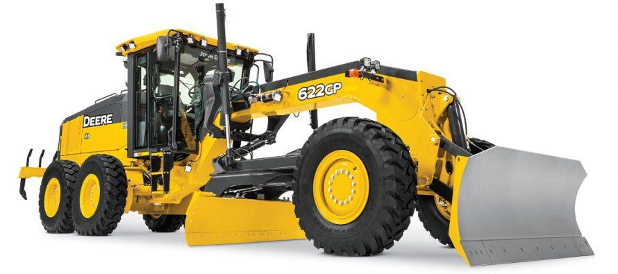 John Deere aduce pe piața europeană autogrederele 622GP și 672GP