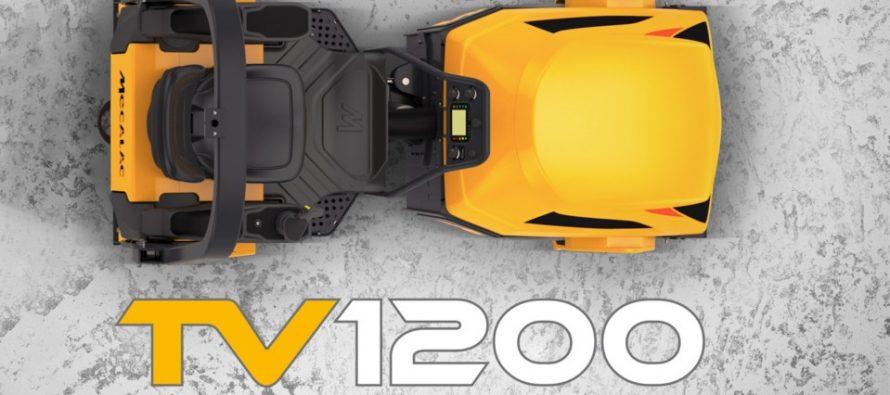 Cilindrul compactor vibrator tandem Mecalac TV1200, nominalizat la Innovation Award pentru design, la Bauma 2019