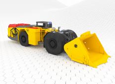 Emisii zero pentru noul încărcător subteran Artisan A10