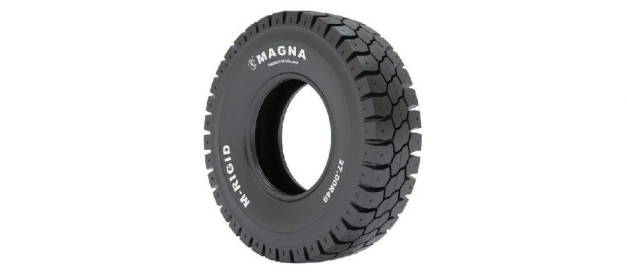 Noua anvelopă Magna M-RIGID pentru autobasculante rigide
