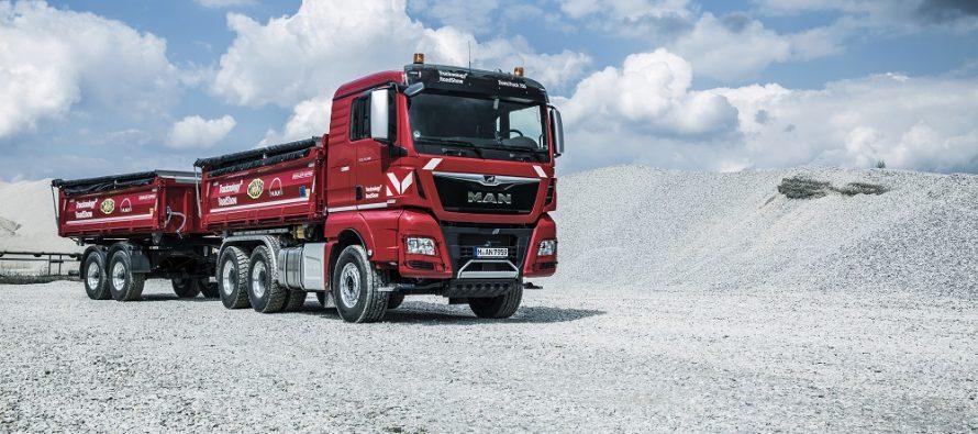 MAN introduce noi sisteme de siguranță si asistență pe seriile TGM, TGS și TGX, la Bauma 2019