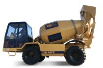 Metalgalante launches the new self-loading concrete mixer Carmix 45FX