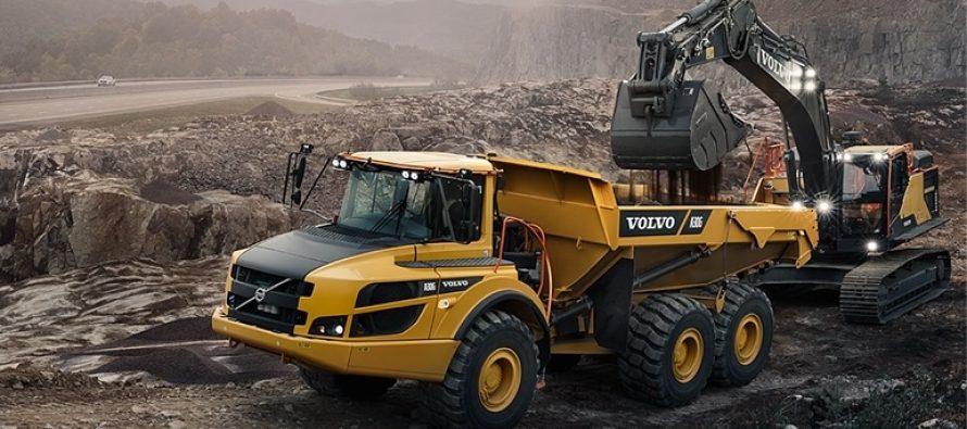 Update în Seria G de camioane articulate Volvo CE