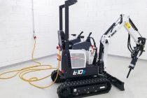 Bobcat va lansa primul miniexcavator electric de 1 t