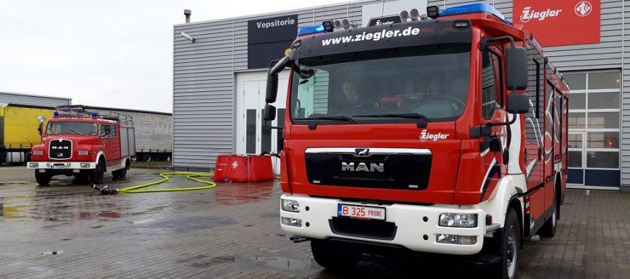 Parteneriat între Ziegler și MHS Holding pentru producerea, la Sibiu, de autospeciale pentru stingerea incendiilor