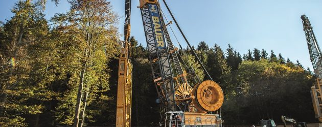Bauer presents state of-the-art technology for specialist foundation engineering