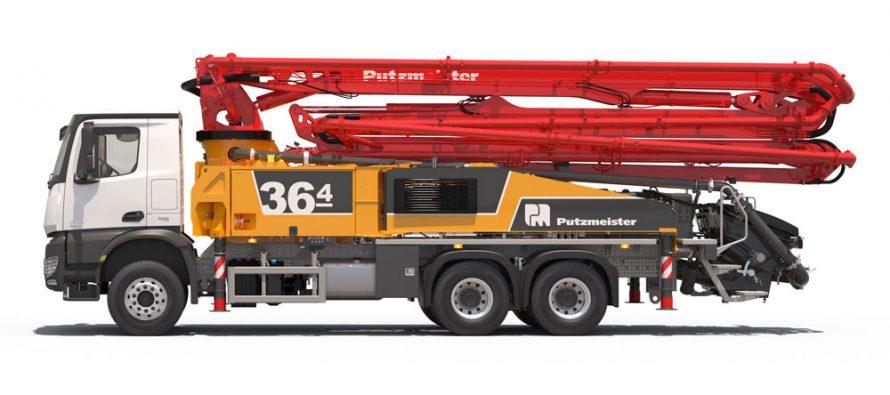Putzmeister stabilește noi standarde pentru autopompele de beton