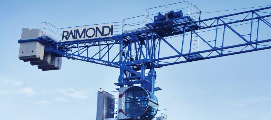 Raimondi Cranes va ridica trei macarale în zona outdoor a expoziției Bauma 2019
