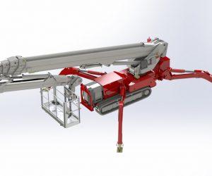 Palazzani lansează noua nacelă de lucru la înălțime Spider XTJ 37+