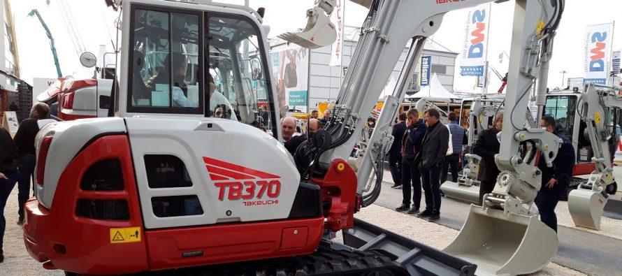 Două noi excavatoare Takeuchi, în premieră mondială la Bauma 2019