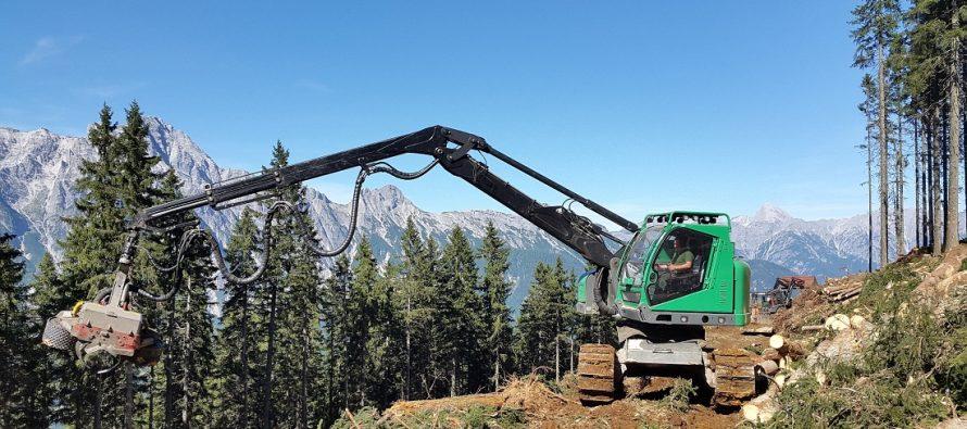 Neuson Forest – harvestere compacte de înaltă calitate