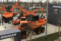 New Doosan Stage V compliant articulated dump trucks