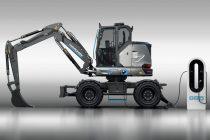 Hidromek a prezentat la Bauma 2019 excavatorul compact 100% electric HICON 7W