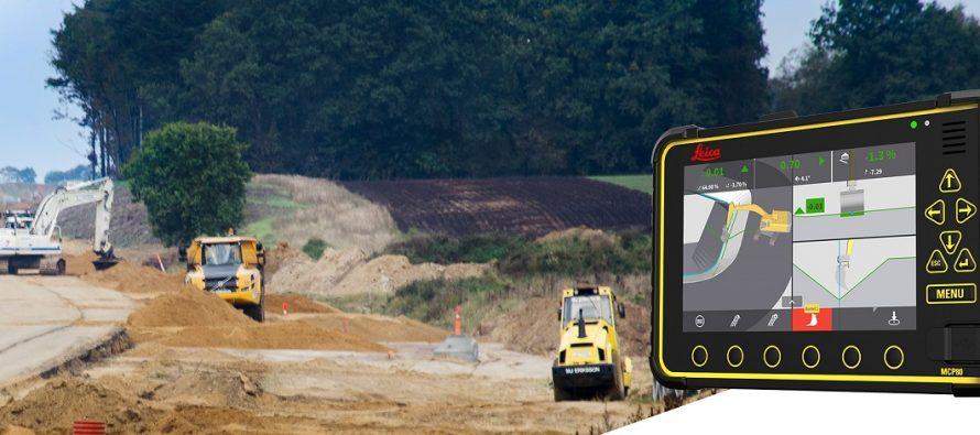 """Leica Geosystems digitalizează mai mult șantierul de construcții, oferind noi soluții """"machine control"""""""