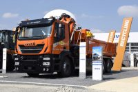 Iveco showcased its wide offer for the construction industry at Bauma 2019