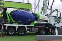 "CIFA expands its eco-friendly range ""Energya"" realizing the world's first hybrid truck mixer pump"