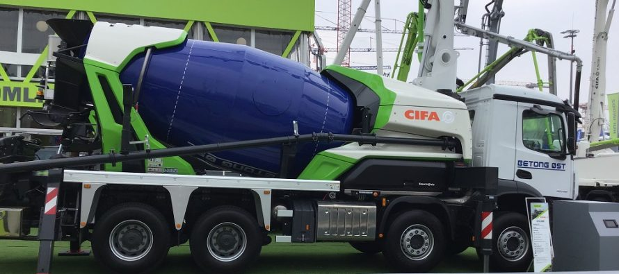 """CIFA își extinde gama eco-friendly """"Energya"""" cu prima pompă malaxor hibrid din lume"""