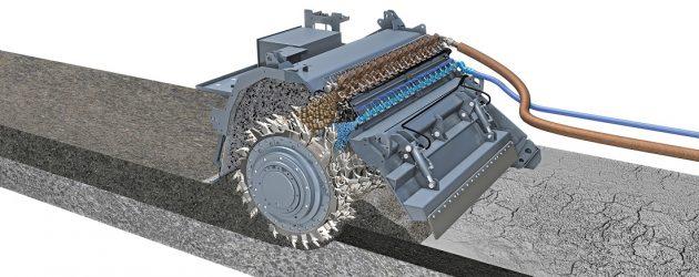 Reciclarea la rece cu bitum spumat – o formulă inovatoare