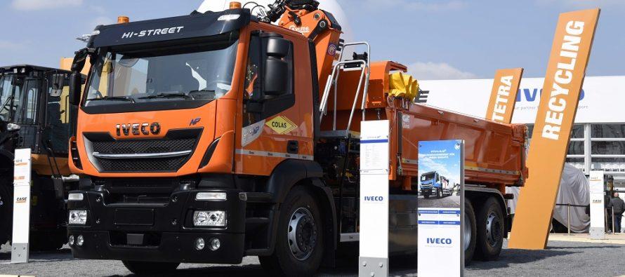 Iveco și-a expus oferta extinsă de vehicule pentru construcții, la Bauma 2019