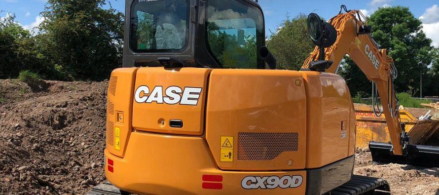 Case Construction Equipment vinde primul său excavator cu motor Stage V în Europa