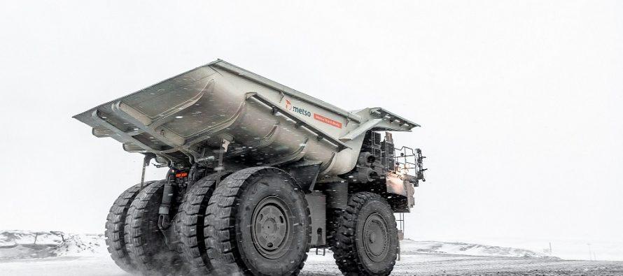 Metso a lansat o benă de camion rigid cu o sarcină utilă și o rezistență la uzură de neegalat